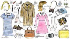 Wes Anderson inspired costumes for Halloween--Margot Tenenbaum & Suzy Bishop @HelloGiggles.com.com