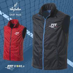 Il #Gilet Plus è la novità della linea #Fit, perfetto per vivere il #tennis ogni giorno. #sport #sportwear #sports #abbigliamento #sportivo