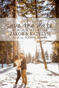 Save The Date Vintage Save The Date Rustic Wedding by UrbanWorks, $10.00 can be customized with your photo!