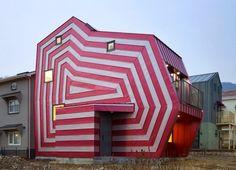 Lollipop House, Giheung-Gu, South Korea