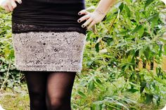 rums Rum, Lace Skirt, Sequin Skirt, Leather Skirt, Sequins, Sewing Ideas, Inspiration, Fashion, Skirt Sewing