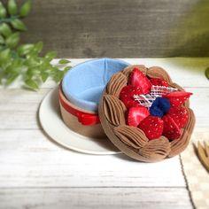 チョコレートケーキの小物入れvol4 | ハンドメイドマーケット minne