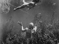 Creature from the Black Lagoon Classic Universal Monster Movies (Julie Adams) Walt Disney Movies, Disney Movie Posters, Old Movie Posters, Classic Movie Posters, Classic Horror Movies, Horror Movie Posters, Horror Films, Tv Movie, Movies