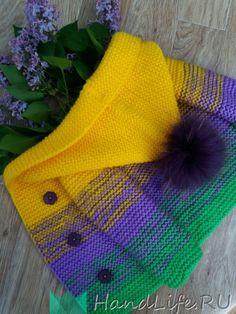 Кардиган для малыша / Вязание