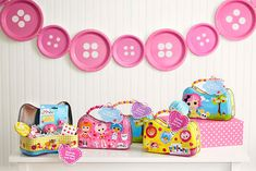 free printable lalaloopsy invitations | ... make terrific take-home favors. Click here for the free printable