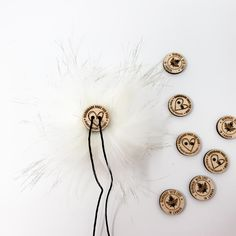 White Faux Fur Pom Poms – Warehouse 2020 More Code, Faux Fur Pom Pom, Black Nylons, Pure White, Pom Poms, Warehouse, Pure Products, How To Make, Handmade