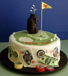 @KatieSheaDesign ♡♡ #cakes #Golf #birthday