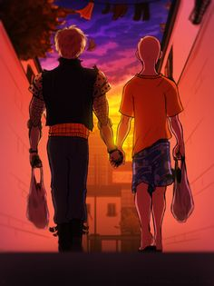 Don't know why but I actually prefer these guys' slice of life webtoon/photo than yaoi ones.