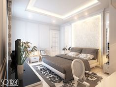 And, about designing, there are many different types of designs. In this post you can see 12 Modern Bedroom Designs to Draw Inspiration From, for your dream bedroom.