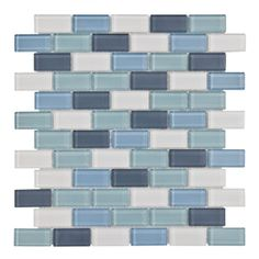 Marsala Brick Mosaic Glass Tile 4mm