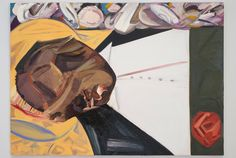 "Dana Schutz, ""Open Casket"" - Censorship, Not the Painting, Must Go: On Dana Schutz's Image of Emmett Till - in the 2017 Whitney Biennial (photo by Benjamin Sutton/Hyperallergic) Emmett Till, Dana Schutz, Cultural Appropriation, Political Art, Whitney Museum, Casket, Art Market, Art World, New Art"