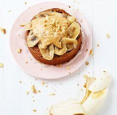 Bananarama, ontbijttaartje, gezond genieten, pindakaas, banaan, kidsproef, oh my pie, fit, food, iedere dag, meest bekeken