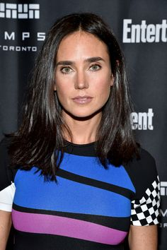 Jennifer Connelly in Louis Vuitton at Entertainment Weekly's Toronto Must List Party Jennifer Carpenter, Jennifer Connelly Young, Miranda Cosgrove, Celebrity Travel, Entertainment Weekly, Celebs, Celebrities, Beautiful Actresses, Actors & Actresses