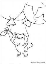 coco der neugierige affe ausmalbilder 34 | basteln | ausmalbilder, ausmalen und malvorlagen