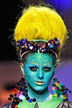 Meadham Kirchoff, Amazing Futuristic Make Up