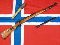 1943 Norwegian K98k (.30-06 / 7.62x63mm) Mauser Rifle (Mfg by J.P. Sauer und Sohn)