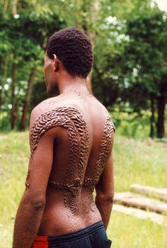 Tribal Scarification - Africa / Scarification / body modification