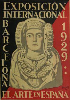 By Junyent Sans, Oleguer, 1876-1956, 1929, Exposición Internacional : Barcelona 1929 : el Arte en España, Biblioteca de Catalunya