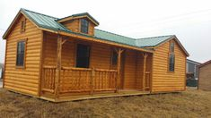 Wildcat Barns sells and offers RENT TO OWN high quality Amish log cabins, with or without finished interior Storage Building Homes, Building A House, Shed Homes, Log Homes, Tiny Homes, Shed House Plans, House Floor Plans, Pre Built Cabins, Prefab Log Cabins