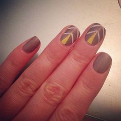 #nails #notd #geometricnails #nailpolish #nailart