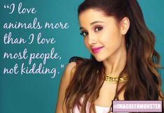 8 Times Vegan Powerhouse Ariana Grande Said Something Completely Awesome LOVE HER OMG
