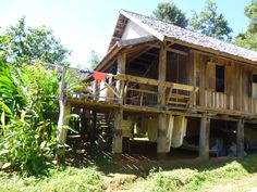 Volunteer accommodation Elephants, Laos, Cabin, House Styles, Home Decor, Homemade Home Decor, Interior Design, Cottage, Home Interiors