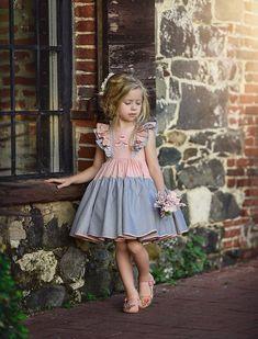 You Little Beauty Dress - Dollcake Cute Little Girl Dresses, Dresses Kids Girl, Little Girl Outfits, Little Girl Fashion, Cute Dresses, Kids Outfits, Kids Fashion, Flower Girl Dresses, Fashion Shoes
