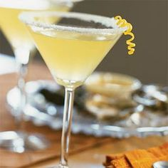 Frosty Lemon Martini | MyRecipes.com