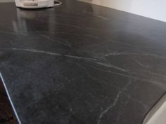 Let S See Your Honed Granite Or Soapstone Countertops Help Black Quartz Backsplash