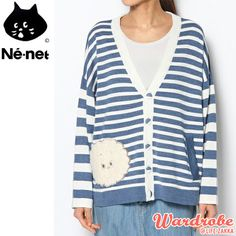 Ne Net 一舊雲條子針織外套 條紋針織衫  US$120.47