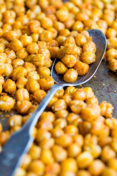 Crispy chickpeas are one of the best snacks ever! They're crunchy and salty, but unlike potato chips, they actually have some nutritional value! They contain 6 grams of protein per 1/2 cup of chickpeas and are also made with heart healthy olive oil. Now, if that doesn't mean you can feel good about eating this …