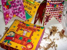 Convite para festa junina em formato de bandeirinhas. R$ 5,14