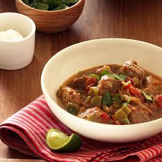 The Sunset Cookbook Green Chile Pork Stew (Chile Verde) - Sunset