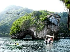 Take a boat ride here, snorkel or scuba drive through and around. Love Puerto Vallarta and all activities.