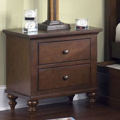 I pinned this Abbott Ridge Nightstand from the Aspen Lodge event at Joss and Main!