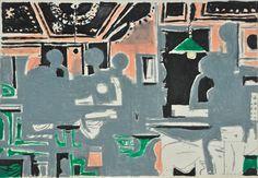 10 colored drawings for the poems of George Seferis, 1965 - Yiannis Moralis Greek Paintings, Greek Art, Art Database, Sculpture, Postmodernism, Figurative Art, Modern Art, Contemporary, Cool Art