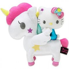 Hello Kitty Tokidoki- Hello Kitty riding a unicorn, Alice would lose her mind!