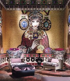 Christian Lacroix inspiration WOW So over the top !!