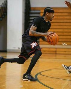 Allen Iverson is back. league start on June, Basketball Tattoos, Basketball Leagues, Basketball Pictures, Basketball Legends, Basketball Uniforms, Sports Basketball, Basketball Players, Allen Iverson The Answer, Gyms Near Me