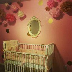 Shabby Chic nursery for #BabyRuettinger