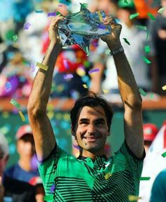 ✔90th title ✔ 25th Masters ✔5th Indian Wells title ✔1000 Points ✔Back-to-back AO-IW titles since 2006   BRAVO Roger Federer ❤