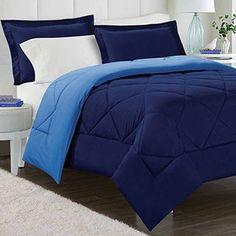 Comfort Classics Windsor Reversible Stain Resistant Down Alternative Comforter Mini Set | Overstock.com Shopping - The Best Deals on Comforter Sets