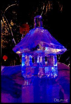 Chinese Ice Lantern by ~sculptin