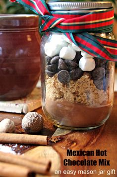This Mexican hot chocolate mix is a delicious way to warm yourself up from the inside out.