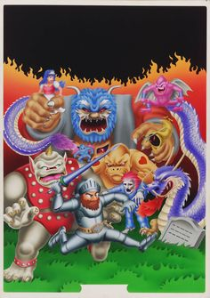 Capcom Arcade Game Art Dump - Ghosts 'n' Goblins | The First 15