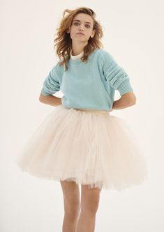 Pullover, Cashmere, Tulle, Collections, Unique, Skirts, Inspiration, Fashion, Women's