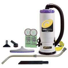 ProTeam Super QuarterVac 6 Qt. Commercial Backpack Vacuum Cleaner with Xover Multi-Surface Telescoping Wand Tool Kit-107118 - The Home Depot Backpack Vacuum, Residential Cleaning Services, Lightweight Vacuum, Commercial Vacuum, Vacuum Cleaner Accessories, Vacuum Reviews, Low Pile Carpet, Best Vacuum, Best Commercials
