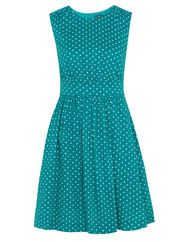 Emily and Fin Lucy dress, jade polka dot