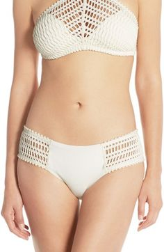 Robin Piccone 'Sophia' Crochet Bikini Bottoms Inspiration