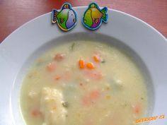 Celoroční rybí polévka.